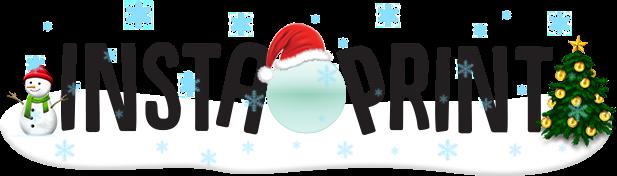 Instaprint - personligt julepynt